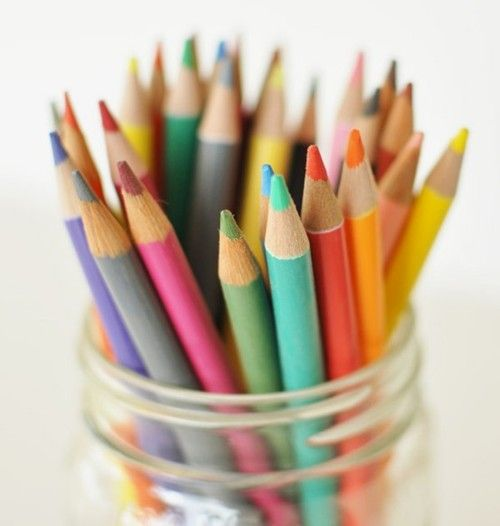 Colorful Pencil Crayon Kleurpotloden Potlood Foto Inspiratie