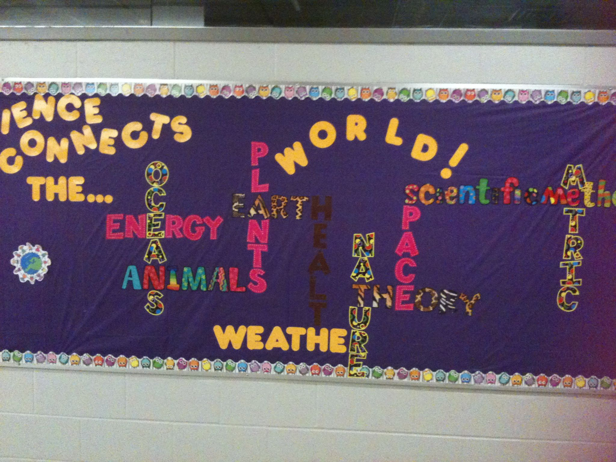 Science Lab Bulletin Board Middle School
