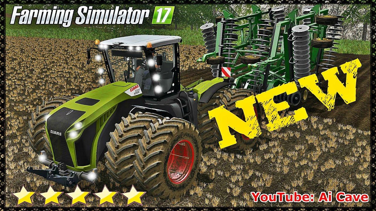 Fastest Tractor Farming : Farming simulator new and best claas xerion