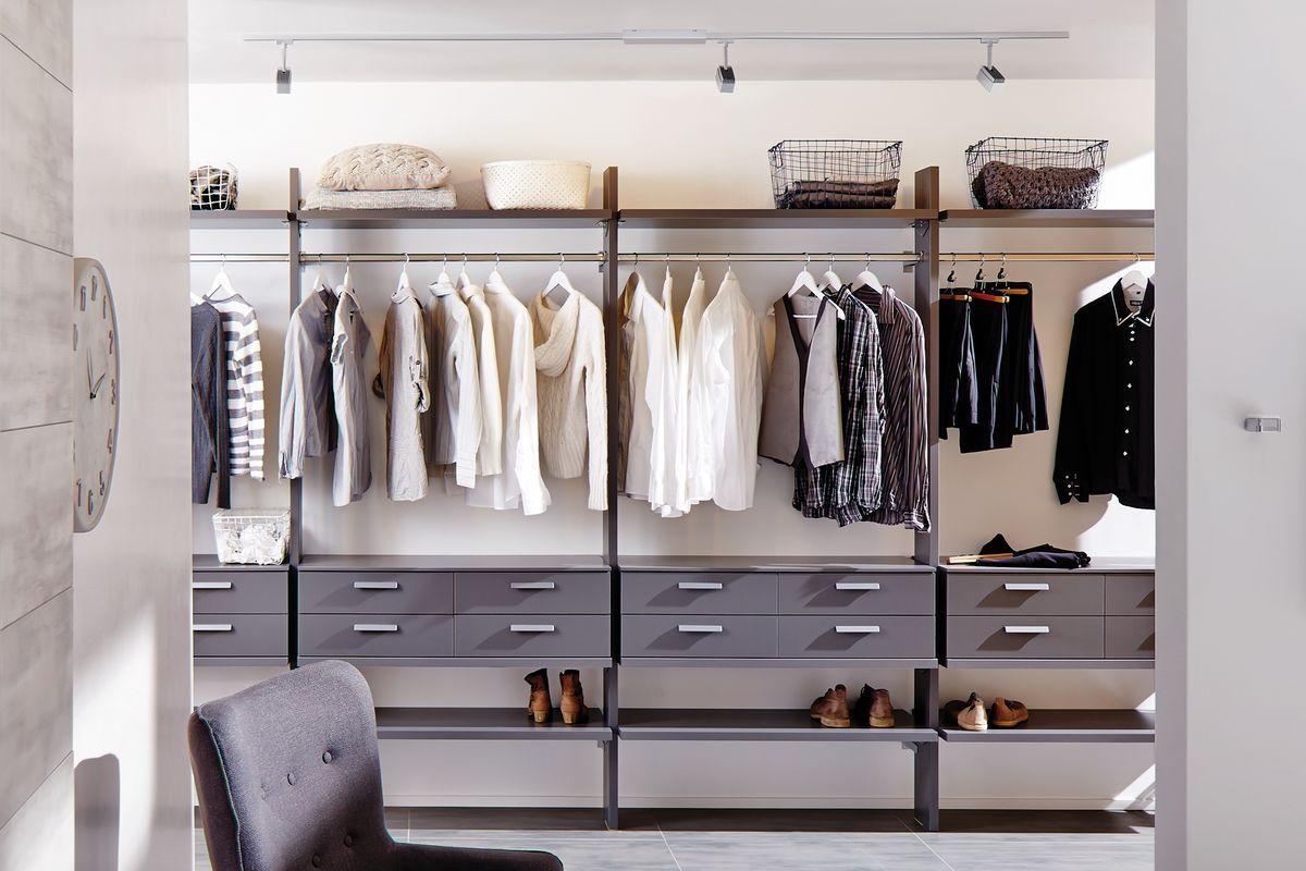 Fur Mehr Ordnung Im Kleiderschrank Bietet Sich Ein Lichtsystem An