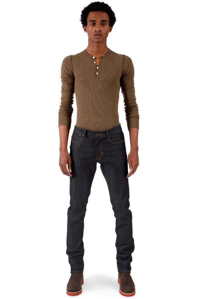 Men's Skinny Stretch Raw Denim Jeans. (http://madeinusajeans.us ...