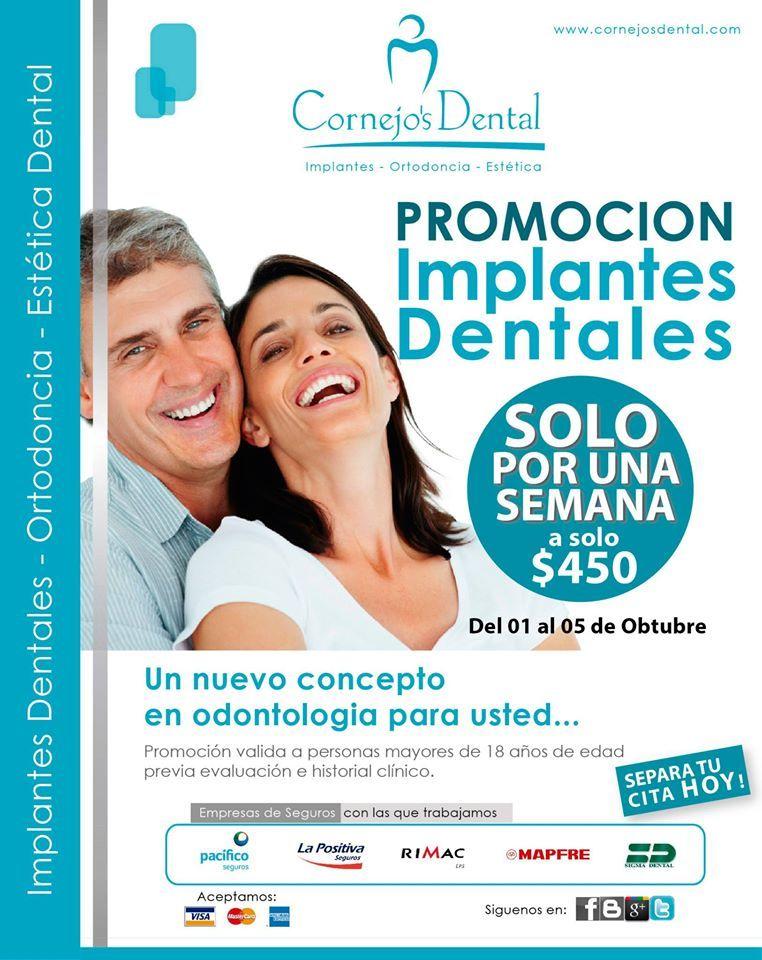 Precio implante dental mapfre