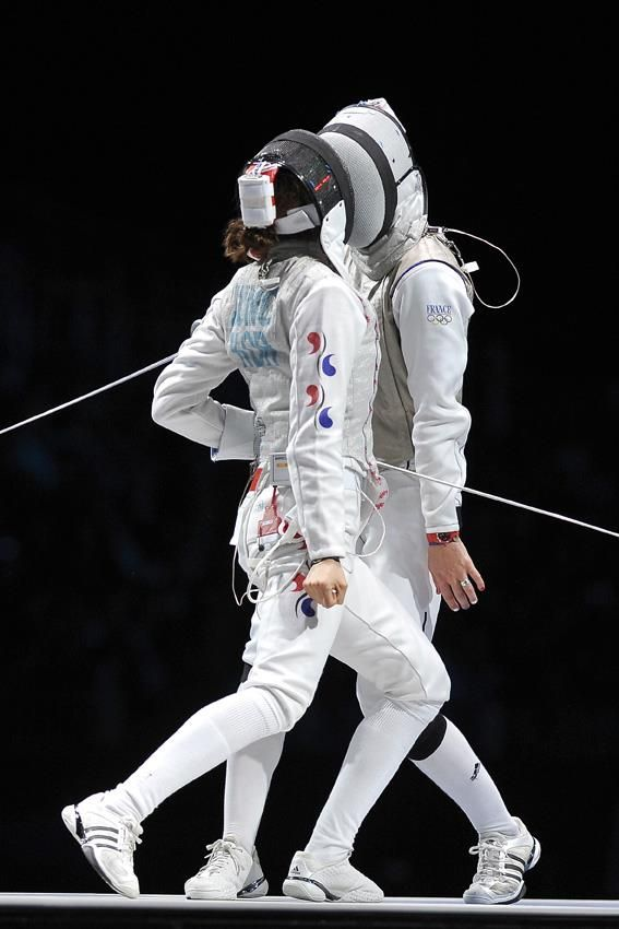 Women\u0027s Team Foil - London 2012 kinesthesia Pinterest Fences