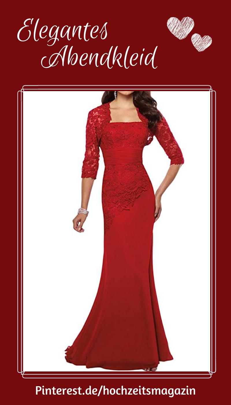 Bodenlanges Abendkleid mit passendem Bolero aus Spitze. in ...