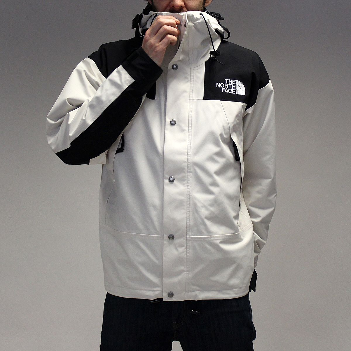 81bff9f16 THE NORTH FACE 1990 MOUNTAIN GTX JACKET – VINTAGE WHITE | COLOR ...