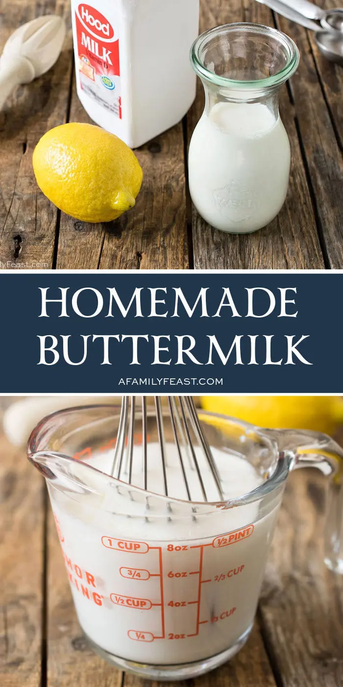 Homemade Buttermilk - A Family Feast® Homemade But
