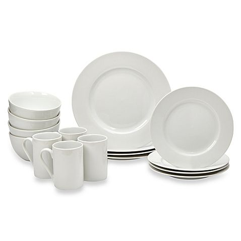 Tabletops Gallery Soleil 16 Piece Dinnerware Set Showcases Simple,  Sophisticated Style For Your Dining