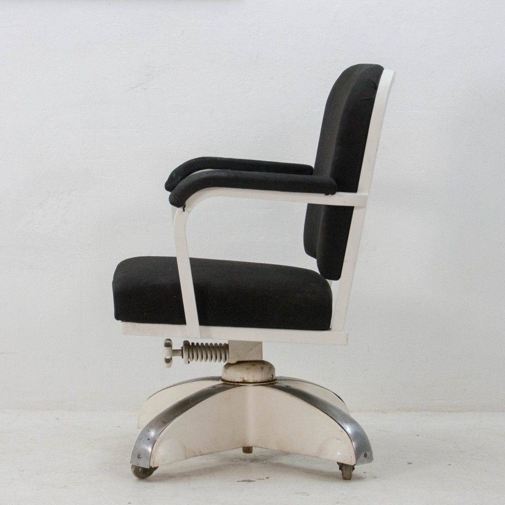 president office chair gispen. Gispen Office Chair, 1950s President Chair P