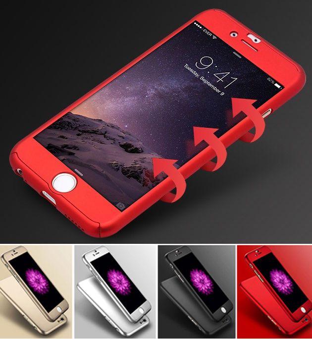 679501ca87c Accesorios Cober Cobertores Forros 360 con Pantalla Para iPhone 6 6S 7 8  Plus X #UnbrandedGeneric