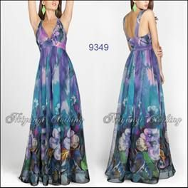 s18-20 Purple Chiffon Occasions Dress FREE POST