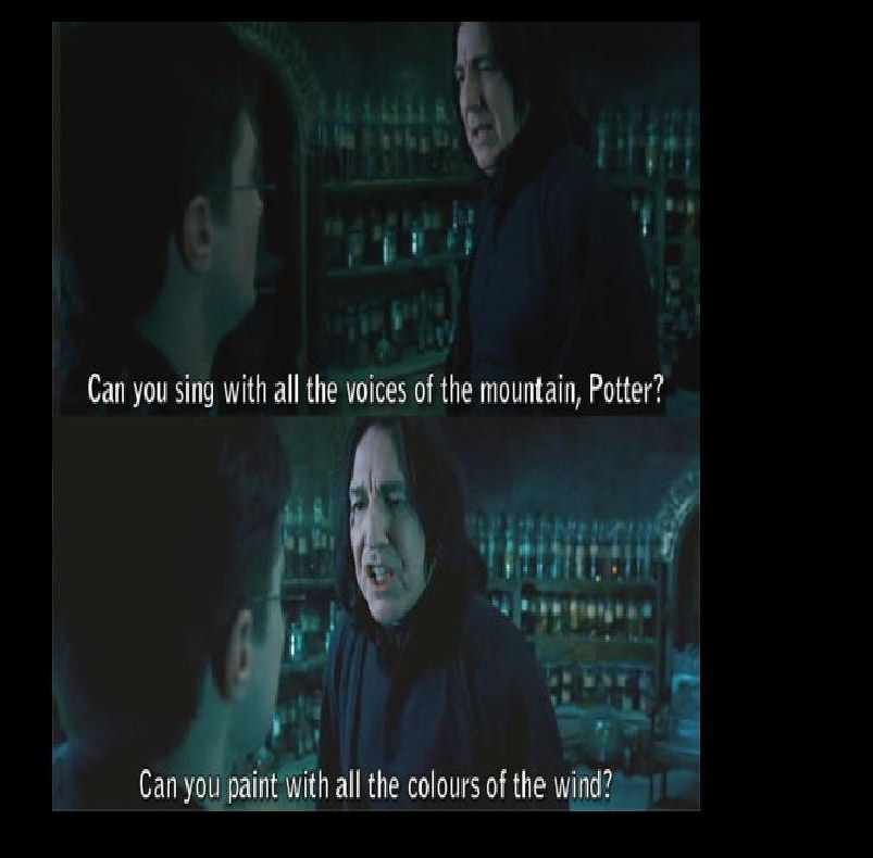 Harry Potter The Humor Within The Captions Just Imagine Snape Saying That In His Angry Voice Its Enough To Make You Smile Humour Rire Drôle