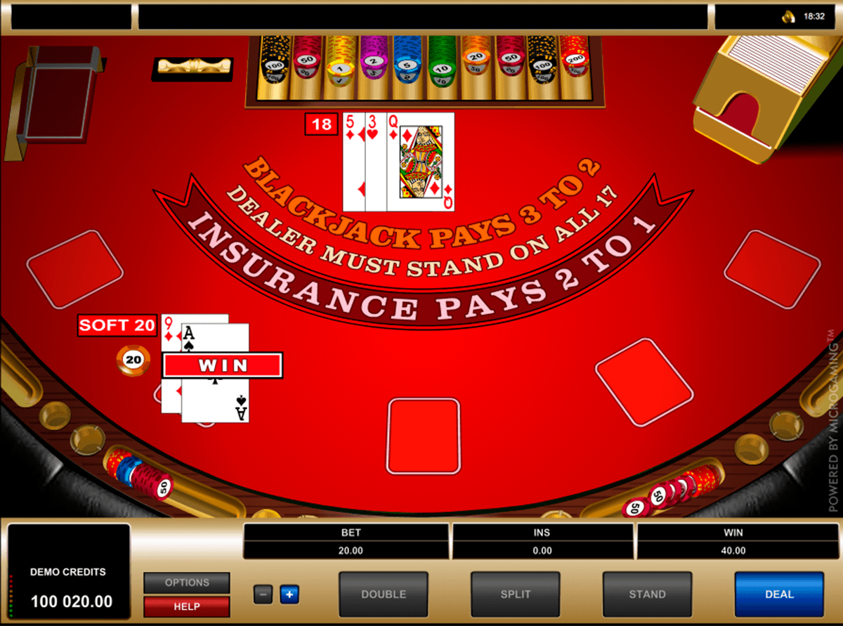 The European Blackjack online game was released by the