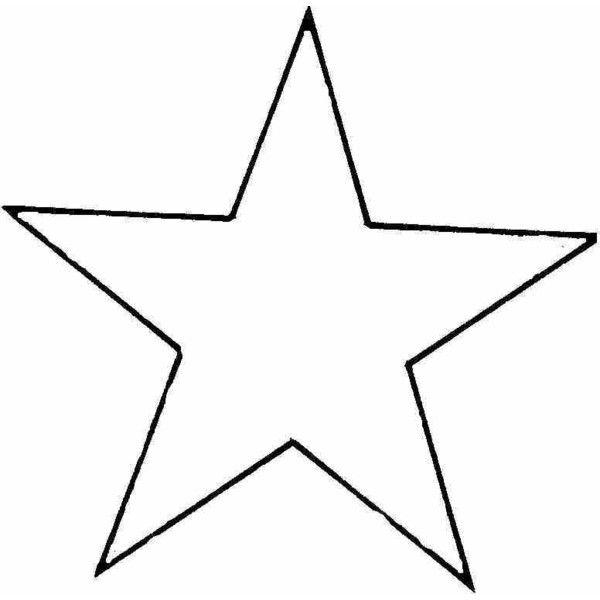 star outline polyvore