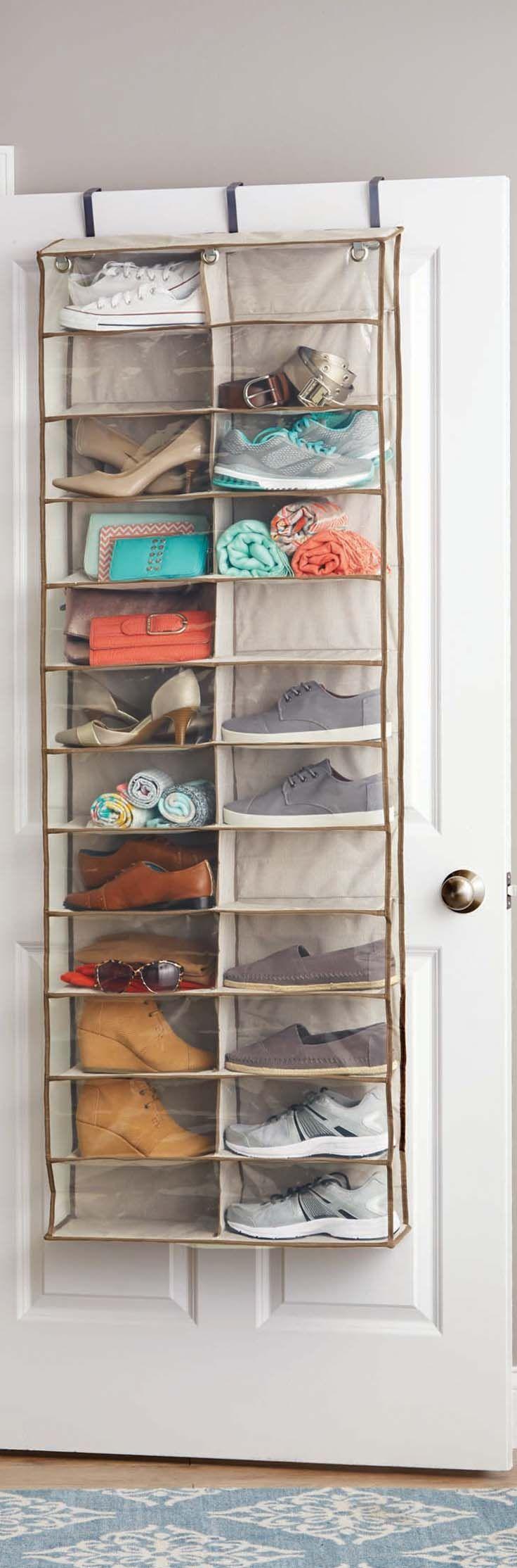 door shoe organizer