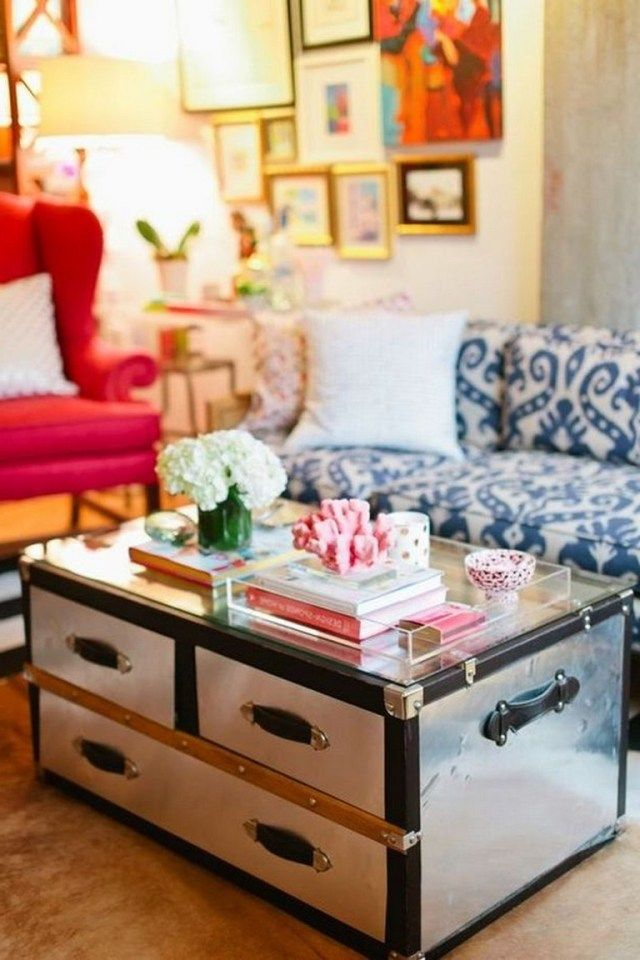30+ Incredible Coffee Table Styling Decoration Ideas ...