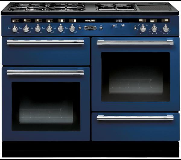Range cooker blue 2 ovens grill proving drawer ceramic plate  sc 1 st  Pinterest & Range cooker blue 2 ovens grill proving drawer ceramic plate ...