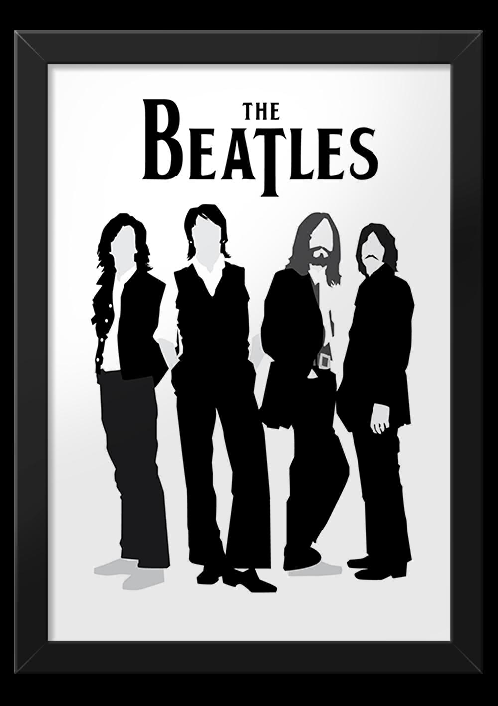 The Beatles Preto 1 Png 1000 1416 Musisi Seni Musik Selebritas