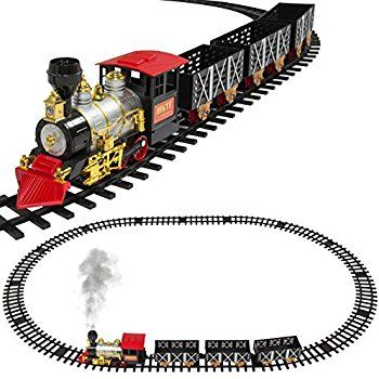 MOTA Classic Toy Train with Real Smoke \u2013 Signature