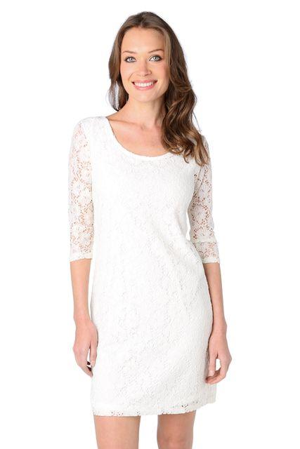Robe de soiree blanche porte