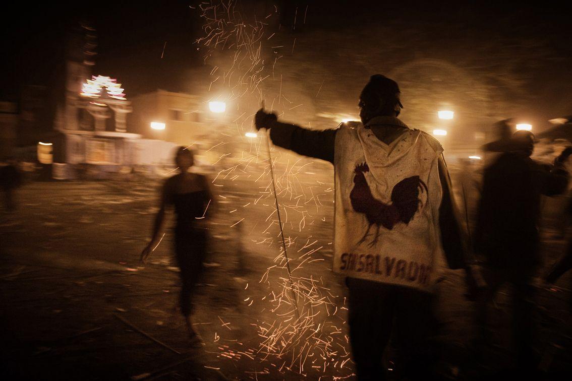 "Una delle foto della mostra ""Noche de Parranda"" - Umberto Carlo Sommaruga"