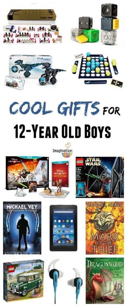 Cool Gifts This Year Part - 18: Discover Cool Gifts For 12 Year Old Tween Boys: Books, Games, And Technology