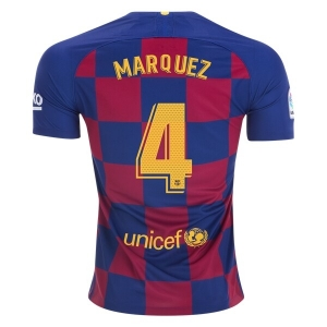 new concept 3efb5 01777 Barcelona 19/20 Wholesale Home Marquez Cheap Soccer Jersey ...