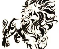 lion tribal tattoo - Google Search tattoo inspiration  represents Darrick