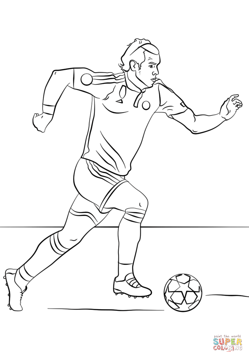 soccer star messi coloring pages - photo#21