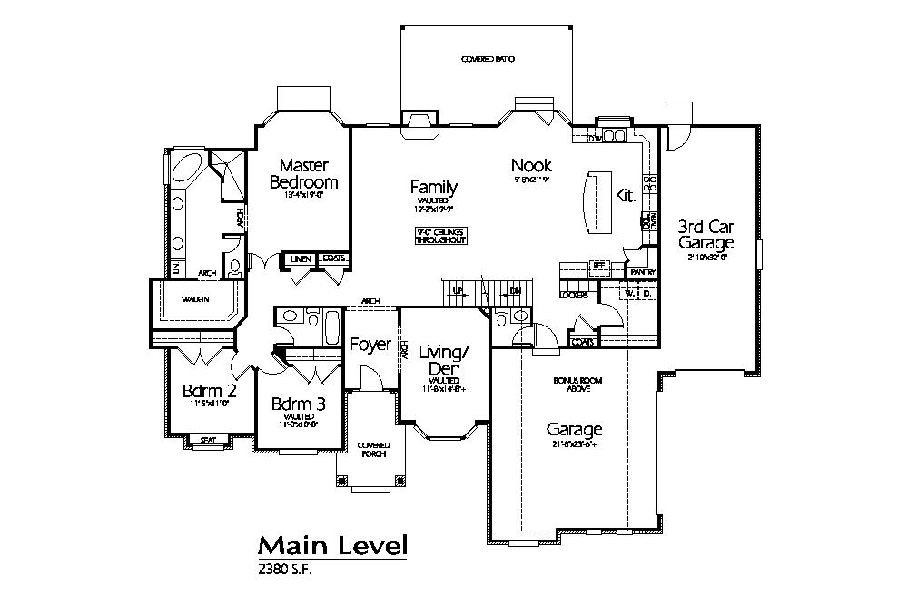 R-2380a | Hearthstone Home Design | House Plans | Pinterest | House