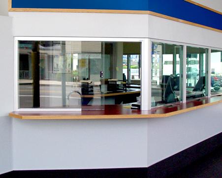 receptionist windows