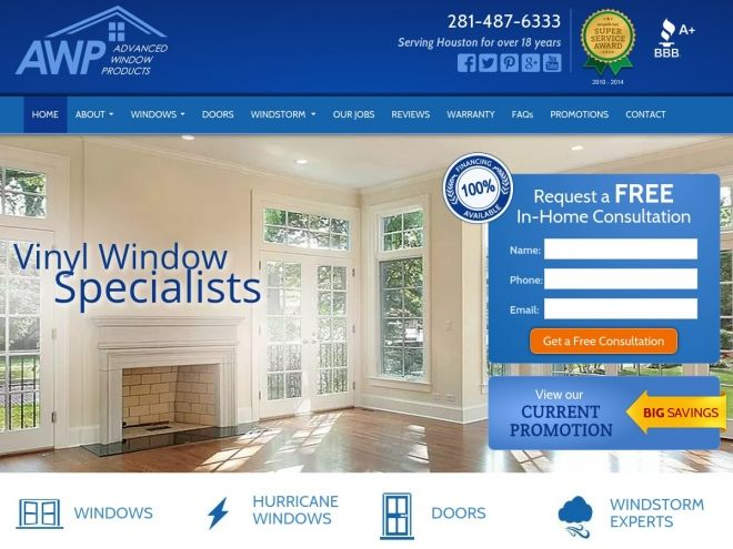 Advanced Window Products- AWP Windows provides energy-efficient and storm-resistant windows and doors throughout the Houston and Galveston areas.  sc 1 st  Pinterest & Advanced Window Products- AWP Windows provides energy-efficient and ...