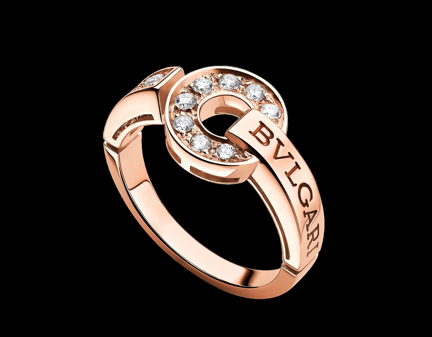 9793bc294 My birthday present!!! - Pinterest worked!! Bulgari | BVLGARI BVLGARI Rose Gold  Rings AN855854