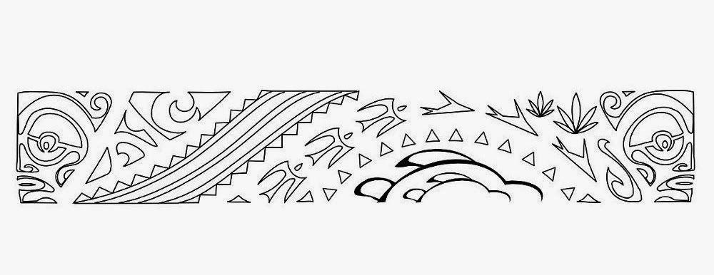 Armband Samoan Maori Tattoo Stencils Maoriiii Pinterest - Maori-tattoo-brazalete