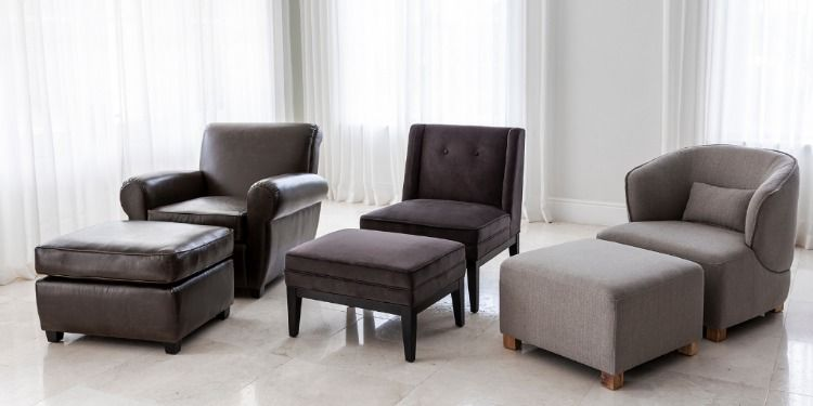 Bradley Occasional Chair Ottoman Astrid Occasional Chair