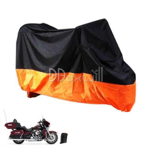 Harley Davidson Bike Covers >> Xxxl Motorcycle Storage Rain Cover For Harley Davidson Street Glide
