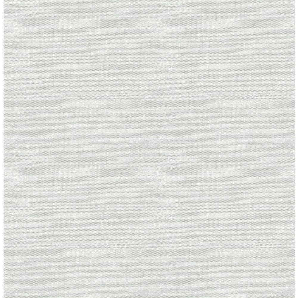 Chesapeake 8 in. x 10 in. Agave Light Blue Faux Grasscloth