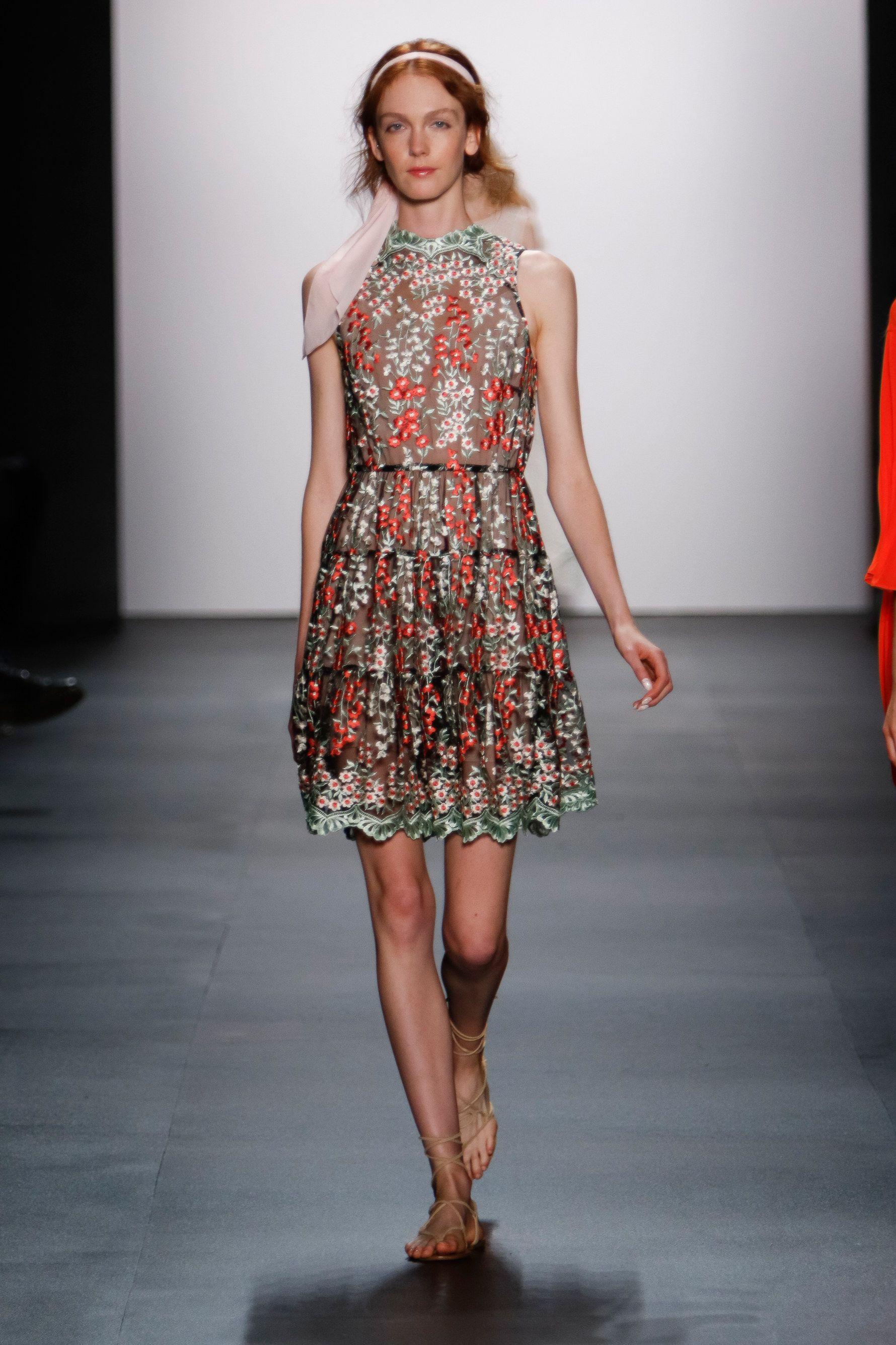 dress - Fetherston erin spring runway video
