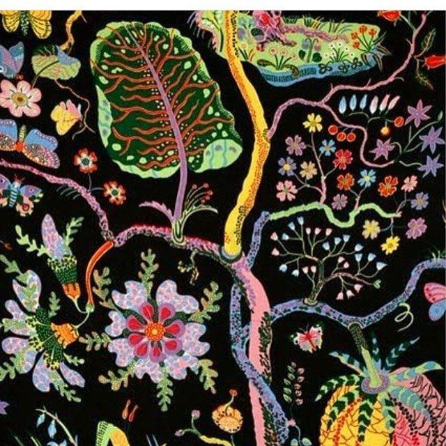 Joseph Frank // Hawaii  Never not great.  Follow our arts editor @_ektobin for more where this came from.  #josephfrank #pattern #textiles