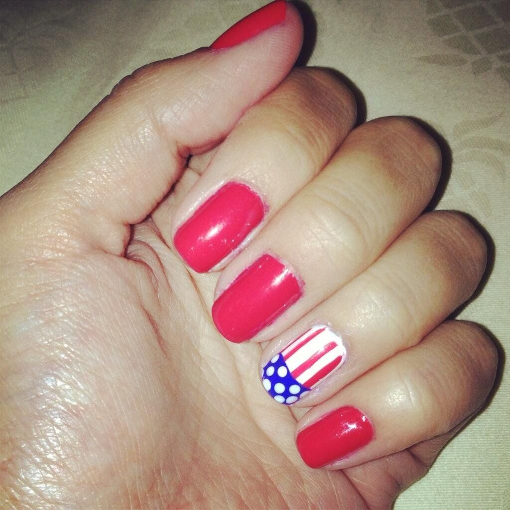 Even More Inspiration For Your July 4 Nail Art   Nails   Pinterest ...