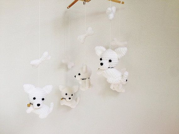 ♥ WELCOME TO IVORY TREE HOUSE ♥  All items are made from my heart with love for smiles of all children and family :)  Detail :  - Puupy : They are