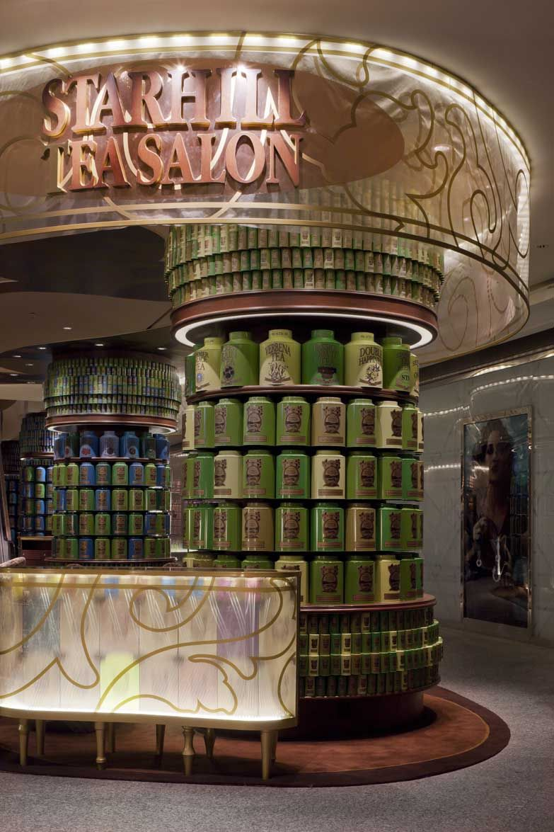 Starhill Tea Salon. Kuala Lumpur, Malaysia