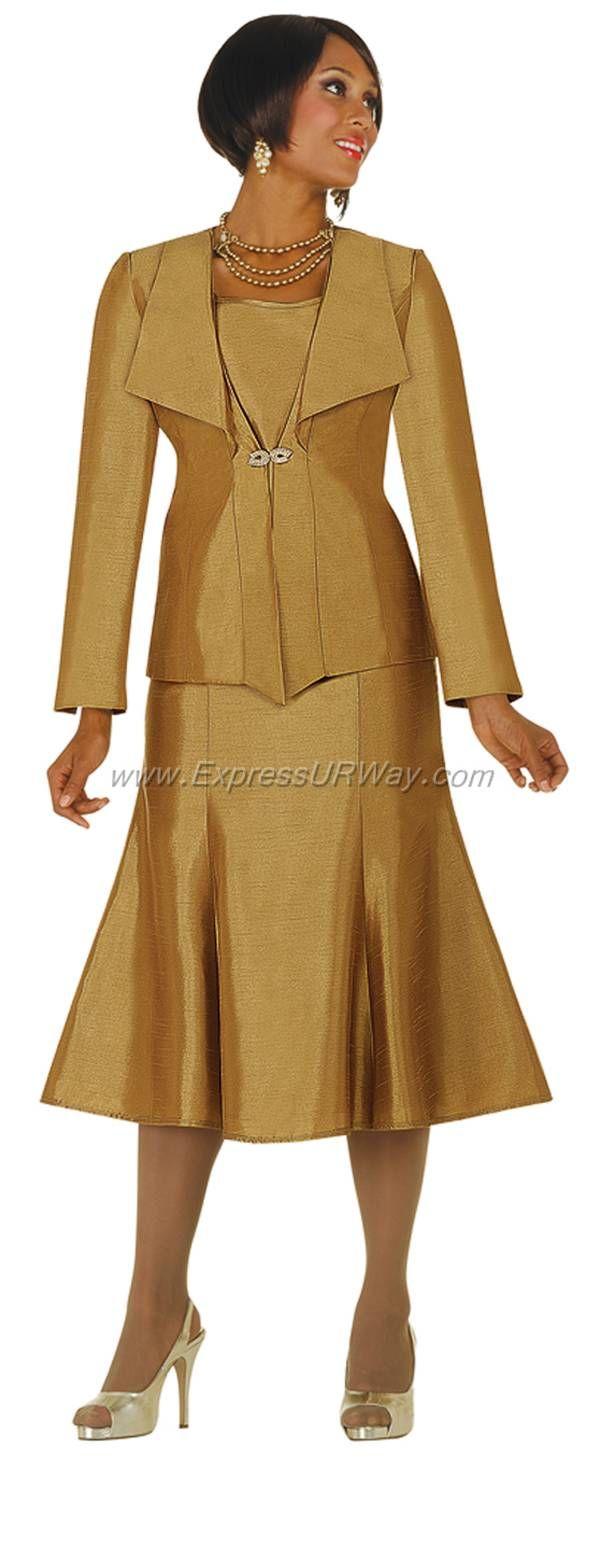 New Womens 3Pc JacketampSkirt SuitParty DressWeddingsChurch T4425G