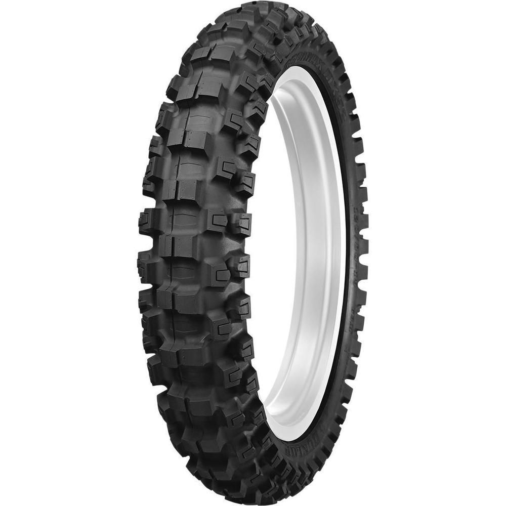 Dunlop Geomax Mx52 Intermediate Hard Tires 100 90 19 57m Rear 52mx 07 Dunlop Tyre Size Tires For Sale Dunlop