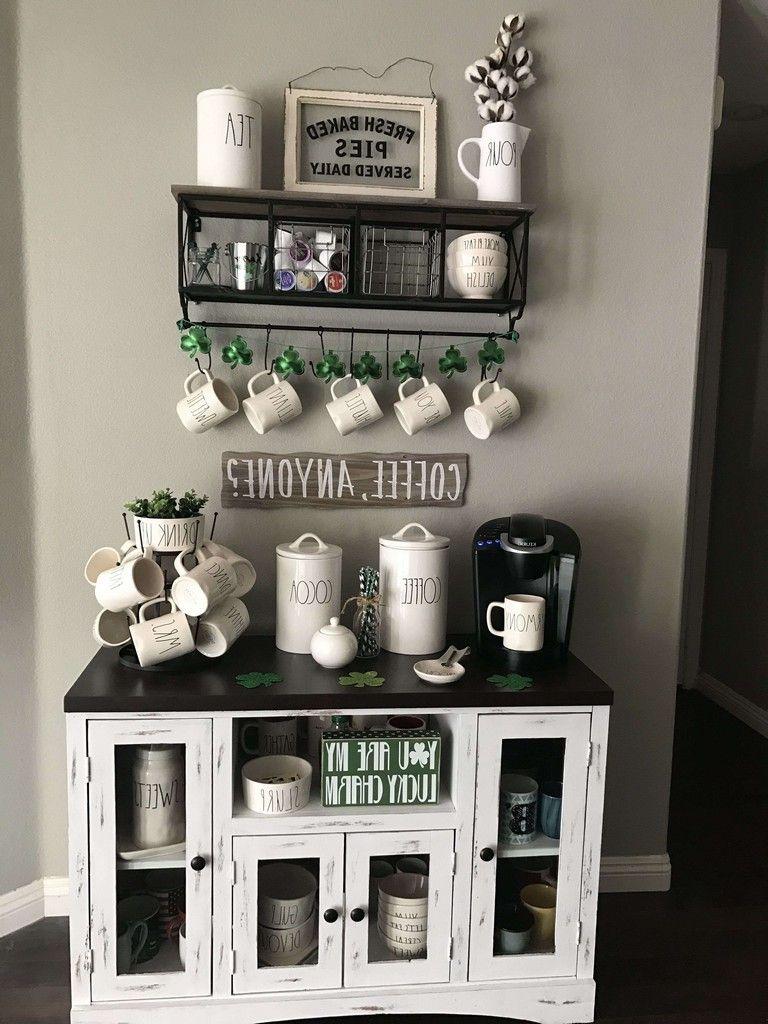 40 Amazing Diy Coffee Bar Ideas For Your Home Diy Homedecor