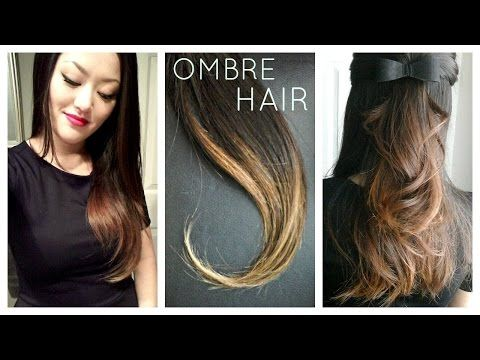 DIY: Ombre | Balayage Hair at home using Box Dye! - YouTube ...