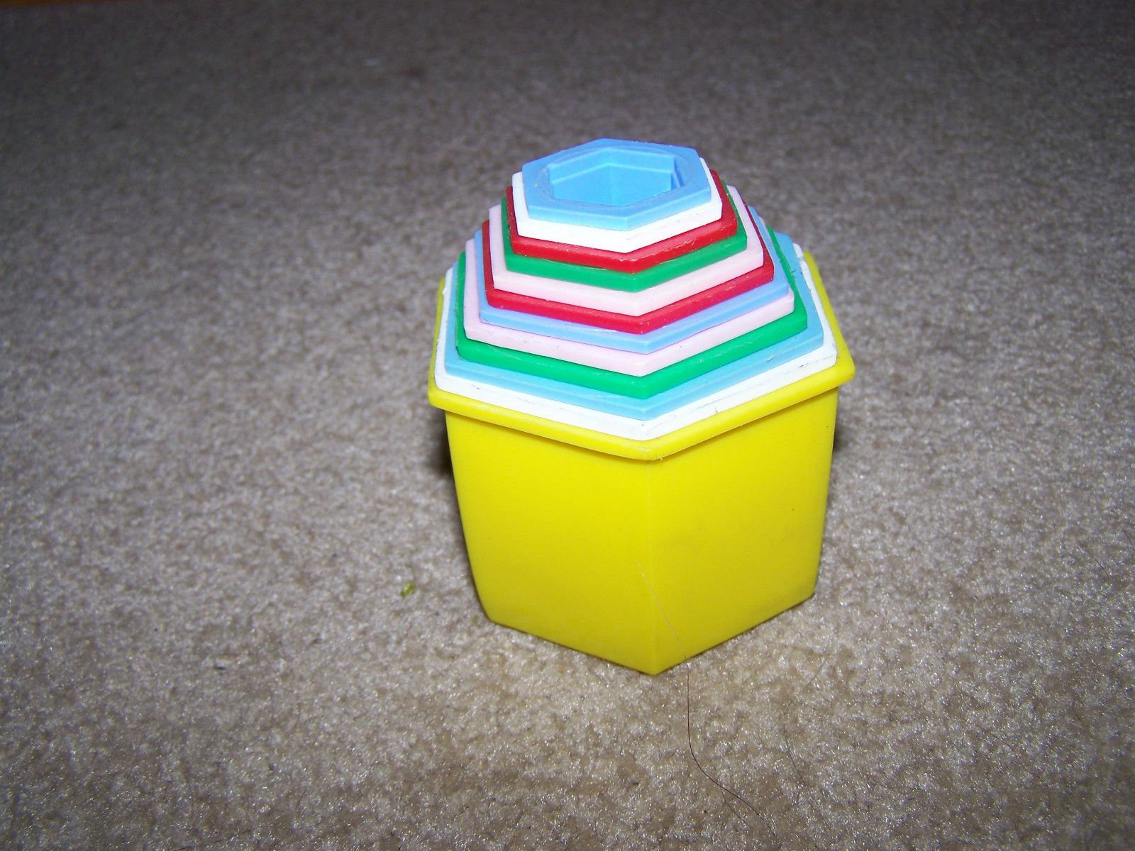 Childs Toy Stacking Nesting Cups