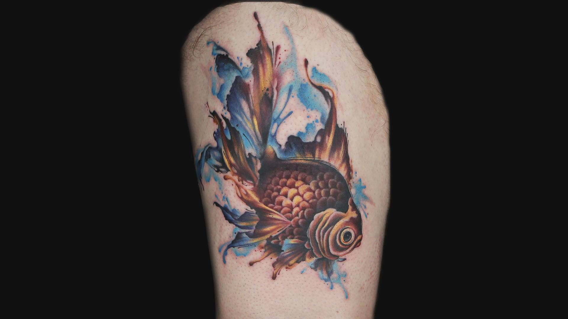 Ryan Ashley Watercolor Tattoo Episode 15 Tatouage