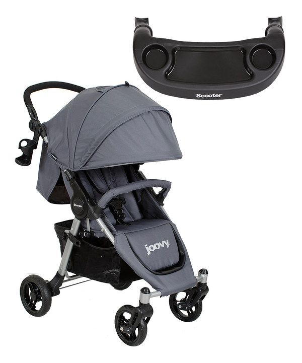 Look at this Charcoal Scooter Single Stroller