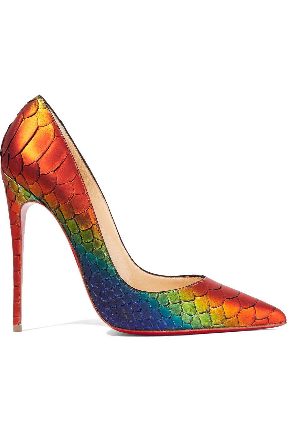 220c38105bf Christian Louboutin - So Kate 120 python pumps | Hello Lover | Shoes ...