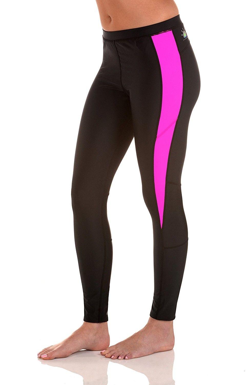 4138b4fbf Women's Clothing, Active, Active Leggings, Women Tights Leggings Swim Gym Pants  UV Protective UPF50+ Black Pink - CN12NG7YN7Z #Active #fashion #women ...